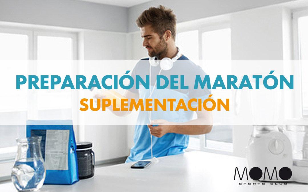 PREPARACIÓN DE UN MARATÓN – SUPLEMENTACIÓN
