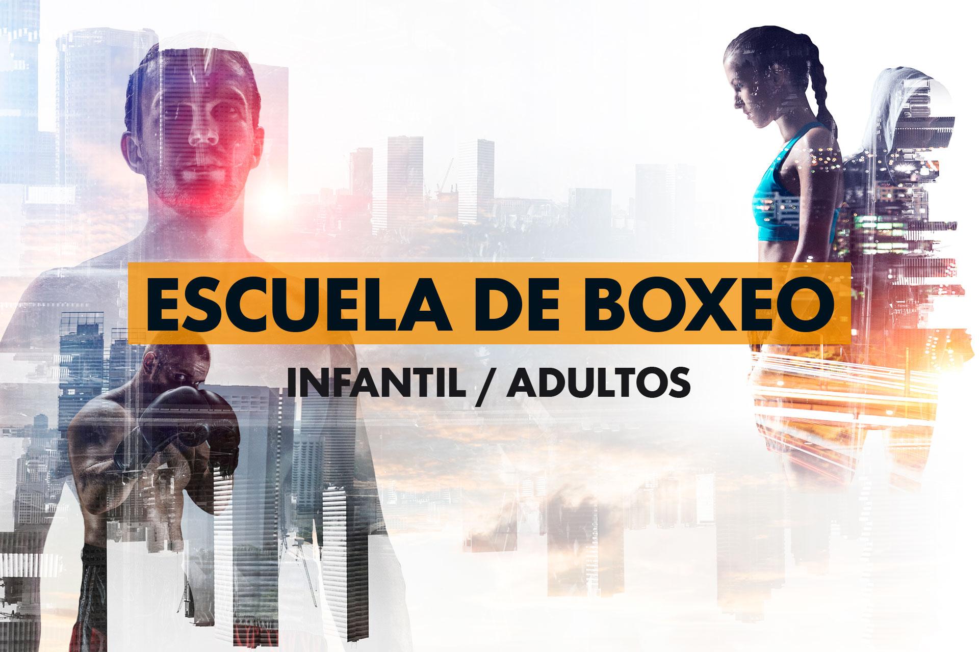 Escuela de boxeo en MOMO La Dehesa