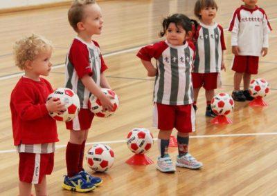 Little Kickers class