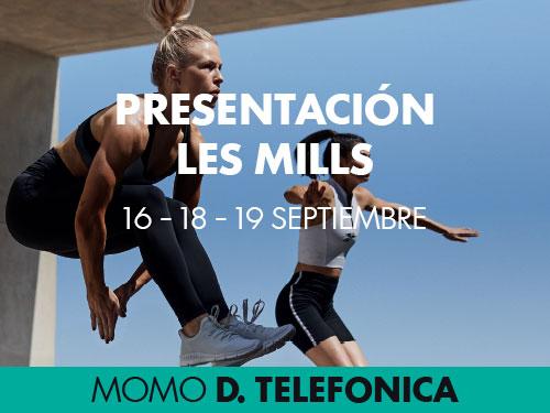 Presentaciones Les Mills