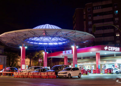 Vista de Gasolinera San Isidro - MOMO Partners
