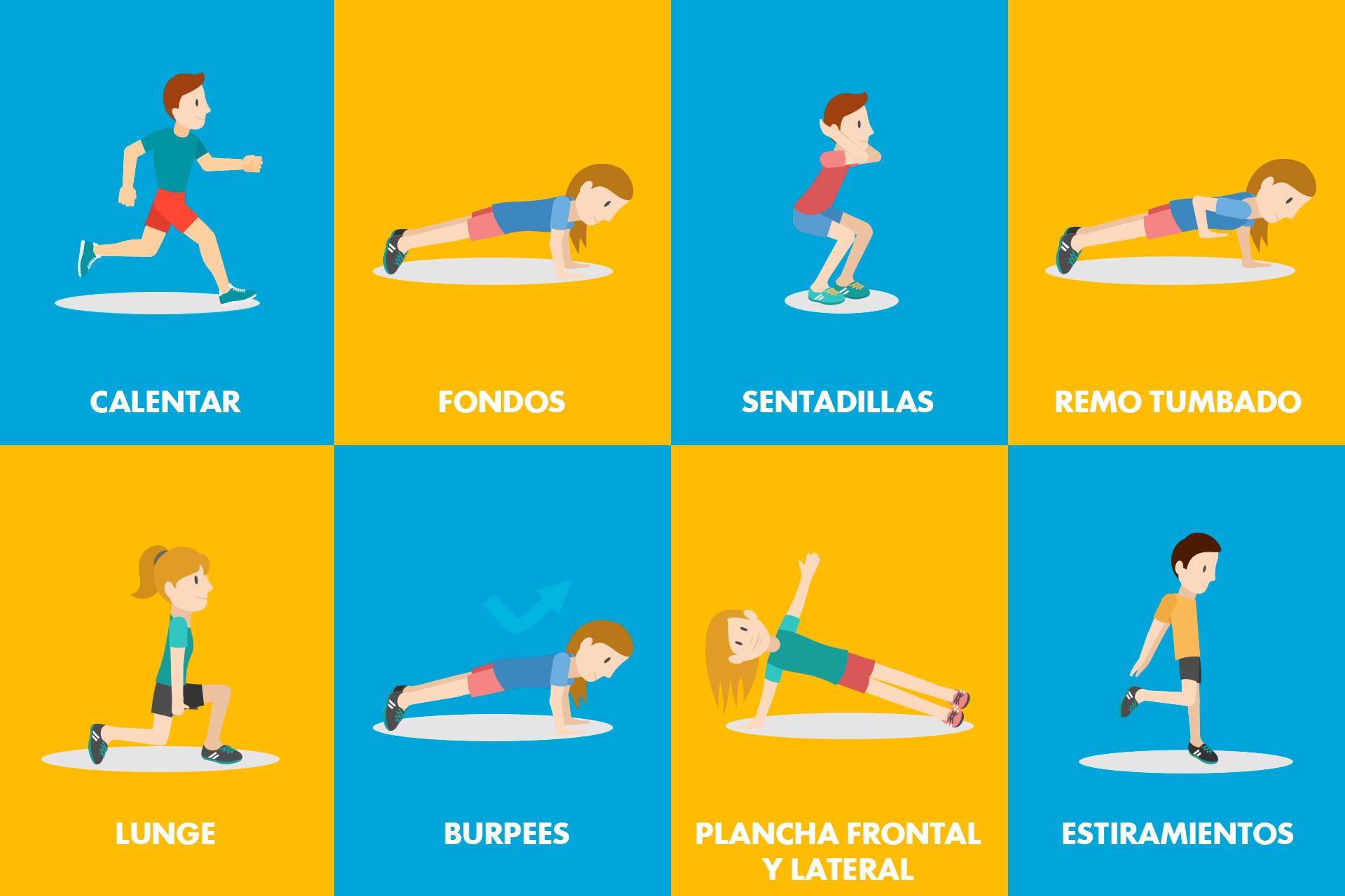 rutina-ejercicios-verano-infografia
