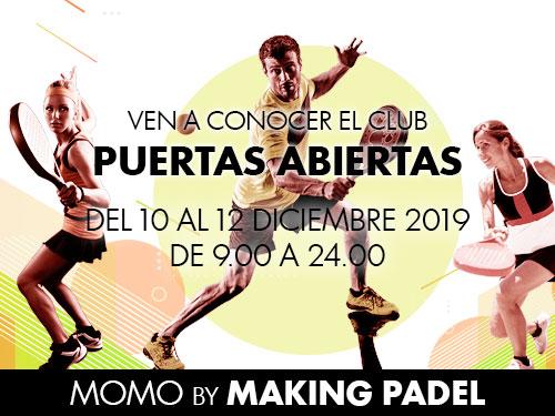 Puertas abiertas MOMO by Making Padel