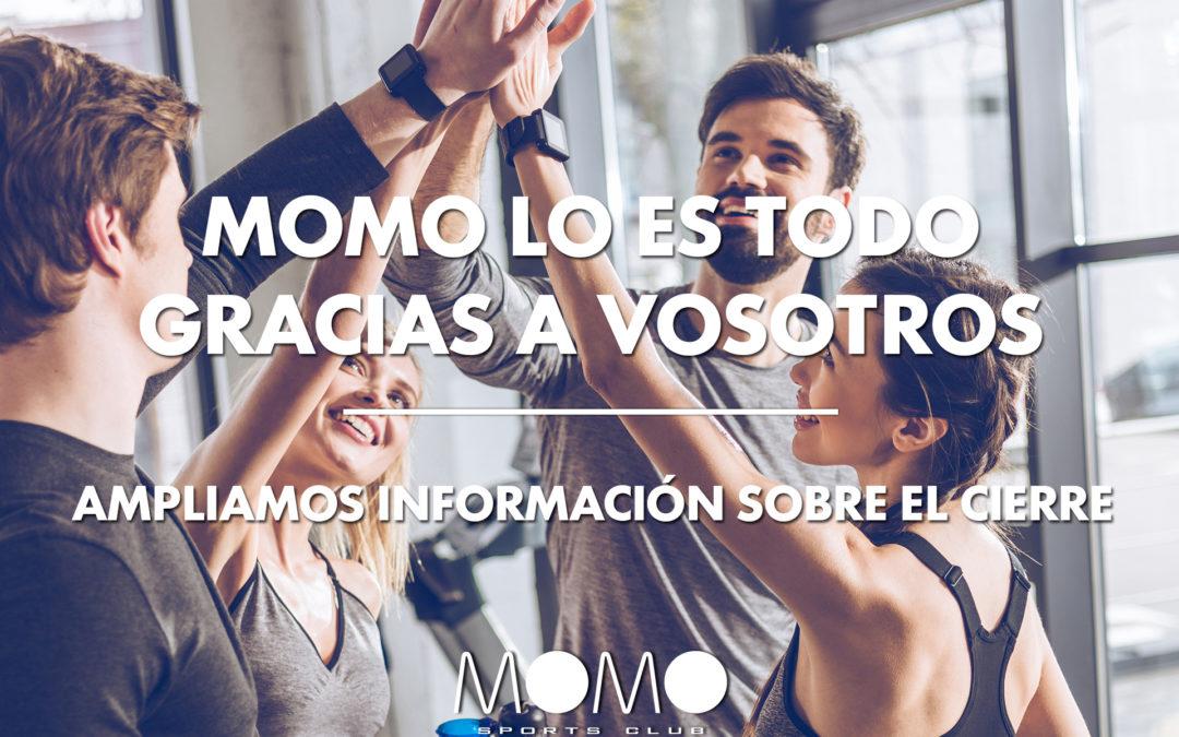 AMPLIAMOS INFORMACIÓN SOBRE EL CIERRE: CUOTAS Y CLASES VIRTUALES