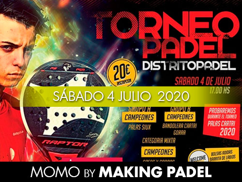 TORNEO ATOPEDEPADEL DISTRITO PADEL