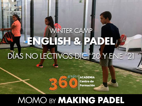 English Padel Winter Camp