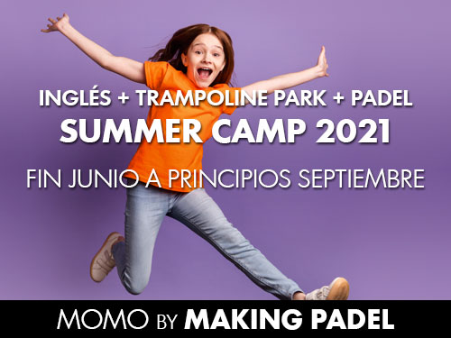 Summer Camp en MOMO by MakingPadel