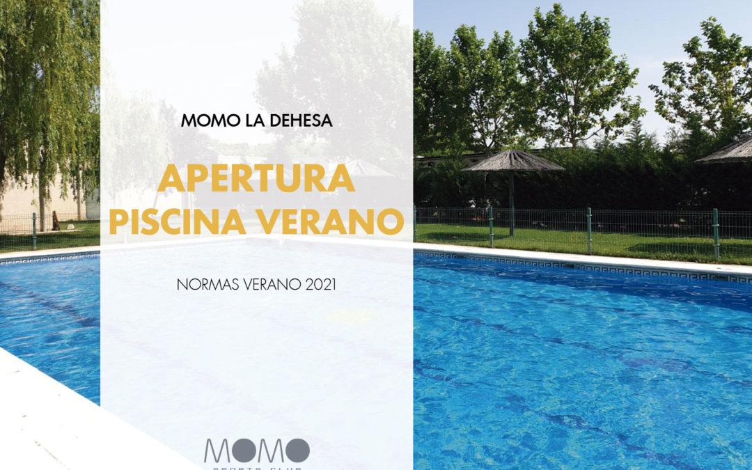 APERTURA PISCINA DE VERANO 2021